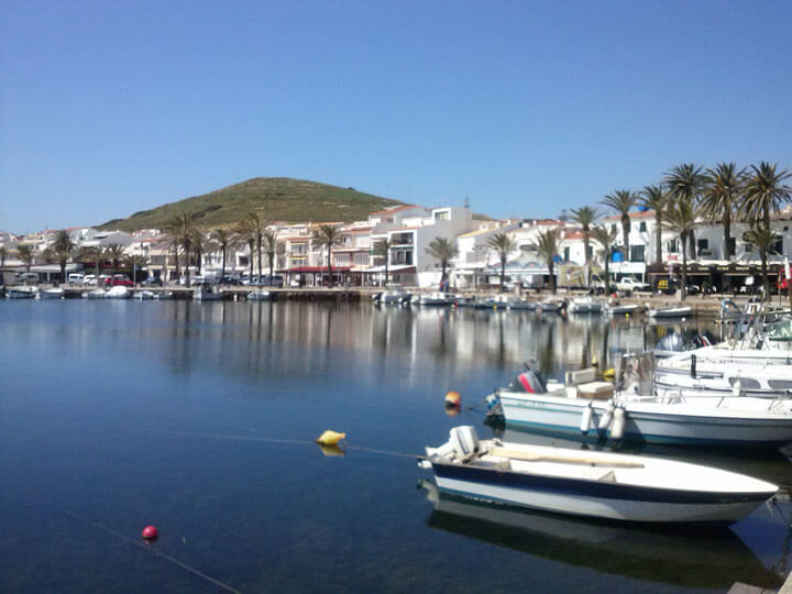 fishingtripmenorca.co.uk boat tours to Fornells in Minorca