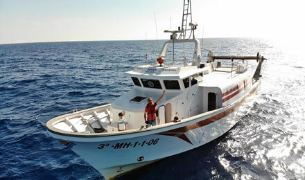 fishingtripmenorca.co.uk boat tours to Menorca with Nueva Josefina